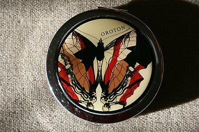 Vintage Oroton Butterfly Compact Mirror