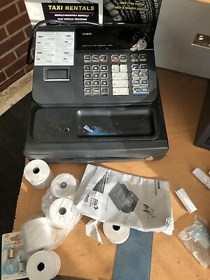 Casio 140cr Cash Register Till. Drawer With Some Free Rolls