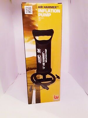 "Bestway Air Hammer Inflation Hand Pump 12"" for Airbed, Swimming Pool etc"