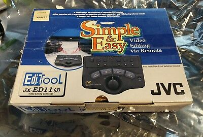 JVC Video Editing Controller JX-ED11(J) Simple & Easy Video Editing Complete 209