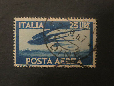 Italy 1945 Airmail  - Used - High CV