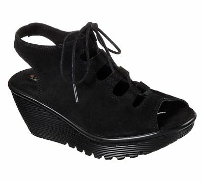 9ddc99810333  31.47 Buy It Now 22d 14h. See Details. Skechers Women s Casual Comfort  Wedge Sandal Parallel Ghillie Up 41053 Black
