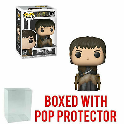 Funko Pop - Game of Thrones - Bran Stark - Wheelchair - Figure Toy - w Protector