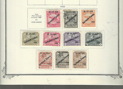 Classic FIUME...#162-171...1922...Short Set of 10...Mint & Used...SCV $62.00