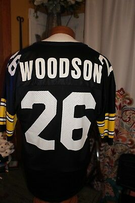 1889dac70fe Vintage Rod Woodson Pittsburgh Steelers jersey Champion Size 44 adult used
