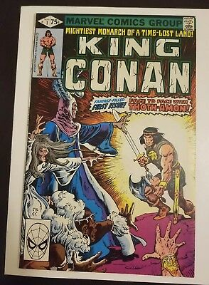 King Conan #1 (1980) VF+ HIGH GRADE KEY APP SEE MY OTHER AUCTIONS