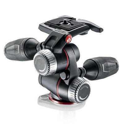 Manfrotto MHXPRO-3W  X-PRO 3-Way Tripod Head with Retractable Levers (Pan / Tilt