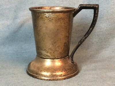 Original Antique Or Vintage Silver Plate Soda Fountain Cup Holder For Dixie Cups