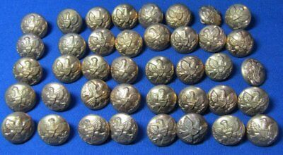 Indian Wars Army Cuff Buttons Lot Of 40 by Horstmann