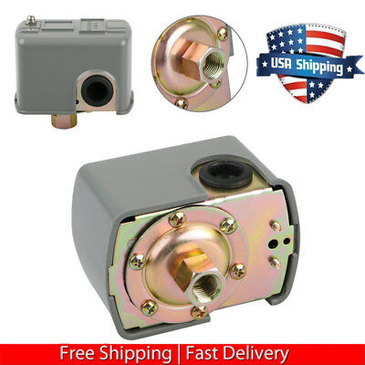 Universal 40-60 PSI Well Water Pump Pressure Control Switch Double Spring Pole