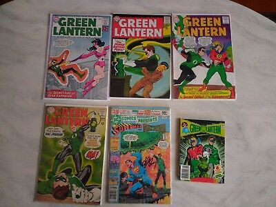 Green Lantern #16, 32, 40 & DC Presents #26