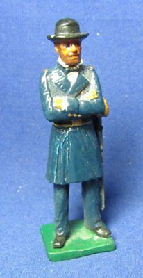 Vintage Civil War Southern General Robert E. Lee 2 3/8 Inch Tall Figurine by Ala