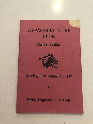1977 Illawarra Race Club