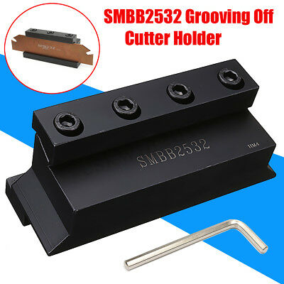 SMBB2532 Cut-Off Blade Holder Cutting tool + T-wrench For CNC Milling Cutter