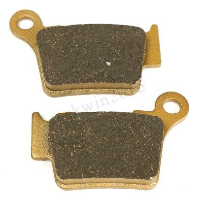 1 Pair of Rear Brake Pads for Ktm SX 125/150 EXC 250/400 Husqvarna CR 125/250
