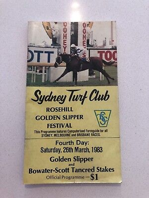 1983 golden slipper