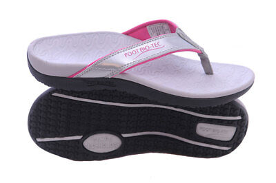 Orthotic Thongs Sandals Planter Fasciitis Heel Spur Arch Foot Support-salsa