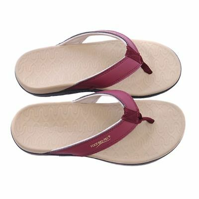 Orthotic Thongs Sandals Planter Fasciitis Heel Spur Arch Foot Support-Serena