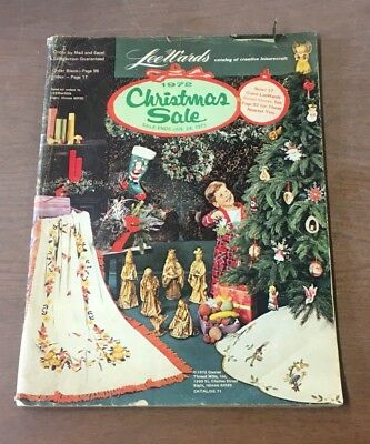 1972 Lee Wards Christmas Sale Catalog - Craft Items