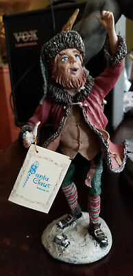 DUNCAN ROYALE HISTORY OF SANTA IiI LIMITED EDITION KNICKERBOCKER FIGURINE