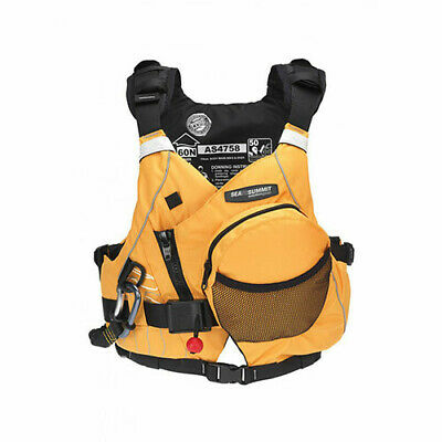 M/L Sea to Summit Solution Leader Safety Gold PFD