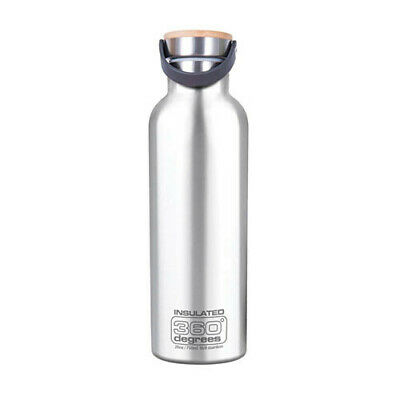 750ML SILVER 360 Degrees Vacuum Insulated Drink Bottle