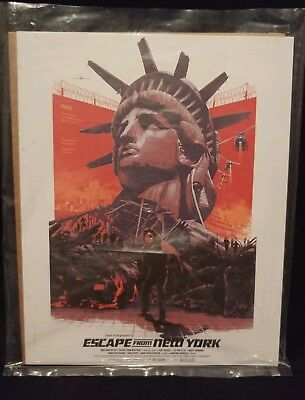 Loot Crate Exclusive Escape From New York 8x10 Art Print