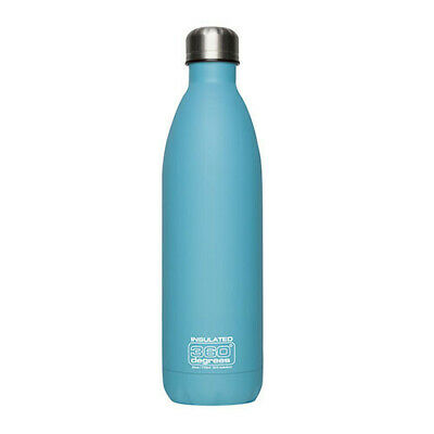 750ML PAS BLU 360 Degrees SS Insulated Soda Bottle