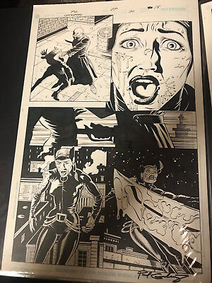 Catwoman (2002) #30 Pg15 Original Art Signed by Paul Gulacy