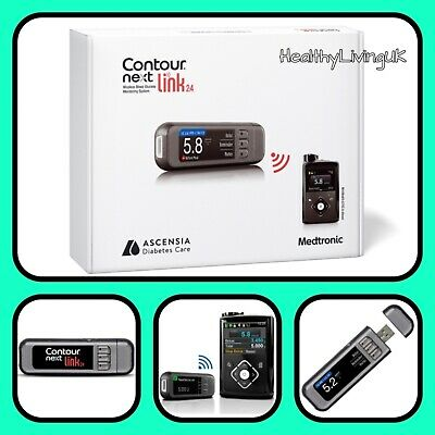 Contour Next Link 2.4 - Wireless Blood Glucose Meter/System + Strips - RRP £299