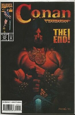 Conan the Barbarian #275 The End VF/NM 1993 Marvel Comics
