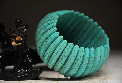 Exquisite Chinese Ancient Aristocratic Wear Turquoise Bracelet