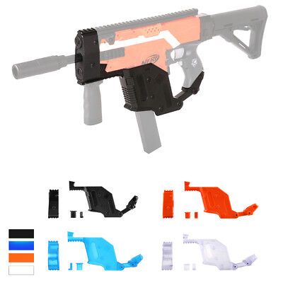Worker MOD Kriss Vector Lower Receiver and Muzzle Cap for Nerf STRYFE Modify Toy