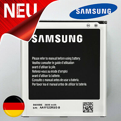 Original Samsung Galaxy S4 GT-I9500 I9505 LTE I9515 B600BE Akku Batterie Battery