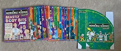 The Horrible Science Magazine Collection - Issues 1-20, Nick Arnold, + holder