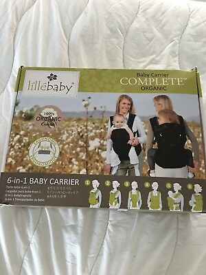 Lillebaby Baby Carrier COMPLETE 6 in 1 Breathable, All Charcoal