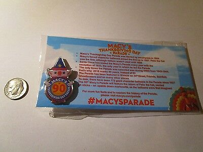 Macy's Thanksgiving Day Parade Pin 90Th Anniversary