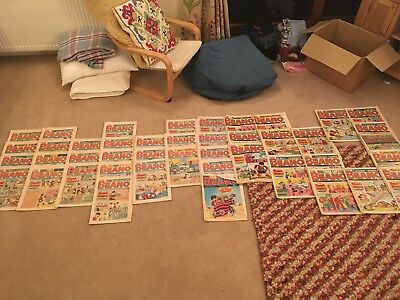 Beano comics job lot (1988 - No. 2373 to 2424)