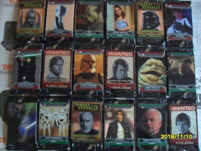 126 Cards 2015 Topps Star Wars Chrome Perspectives Jedi vs. Stith, mit Inserts