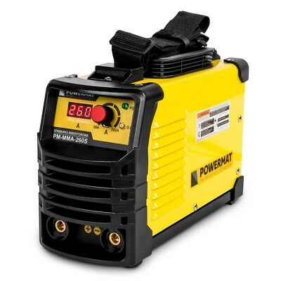 POWERMAT PM-MMA-260S welding machine inverter 260A MMA IGBT HOT START ANTI STICK