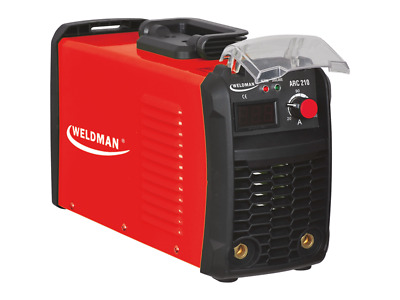WELDMAN WELDING MACHINE WELDER DEVICE ARC 210 MMA DC Portable Light