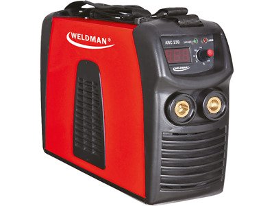 WELDMAN WELDING MACHINE WELDER DEVICE ARC 230 MMA Portable Light