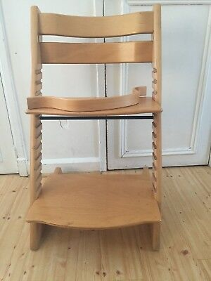 Light Brown Stokke Tripp Trapp Chair