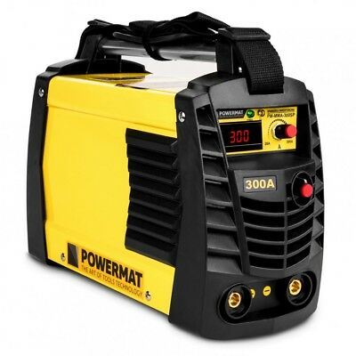 POWERMAT PM-MMA-300SP inverter welding machine MMA 300A IGBT HOT START ANTI STIC
