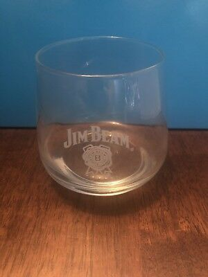 Jim Beam Whiskey Glass