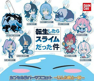 That Time I Got Reincarnated as a Slime Together w/ Rimuru Rubber Strap Keychain