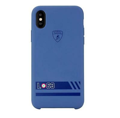 Genuine Lamborghini Huracan-D13 Silicon Back Cover Case for iPhone X & iPhone XS