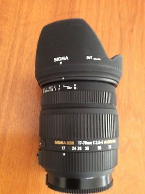 Sigma DC 17-70mm F/2.8-4 MACRO HSM For Sony A mount