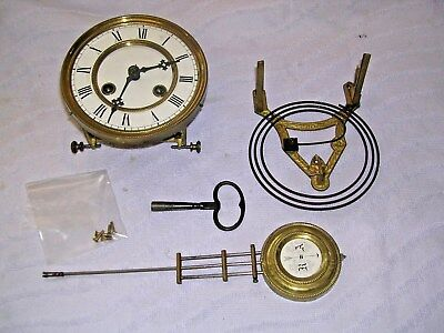 Clock  Parts , Movement ,face, Chime,  Hands, Pen &key