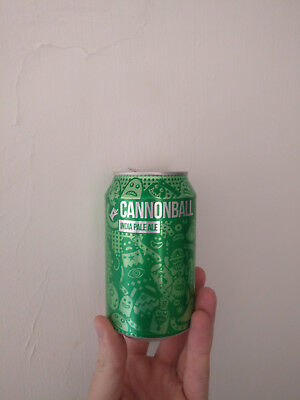 Empty Cannonball can - English beer
